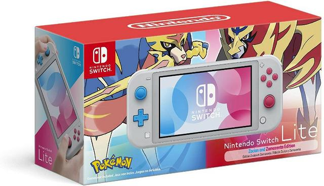 Nintendo Switch Lite Pokémon Edition, Melhor preço!!