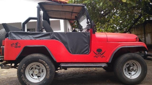 Jeep Willys 1977 4X4 Com Reduzida - Foto 3