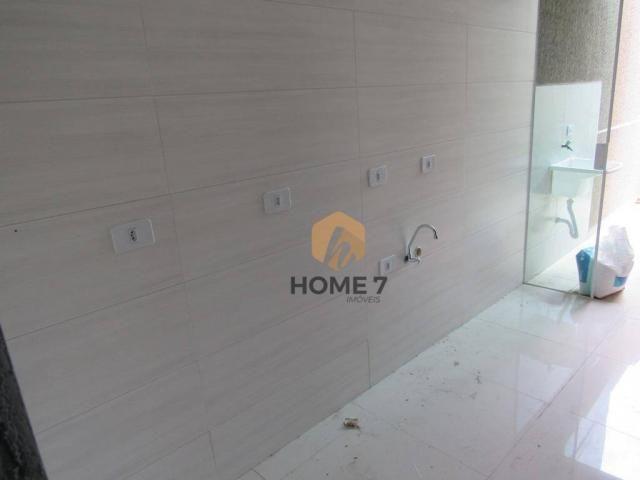 Casa com 2 dormitórios à venda, 43 m² por R$ 195.000 - Sítio Cercado - Foto 12