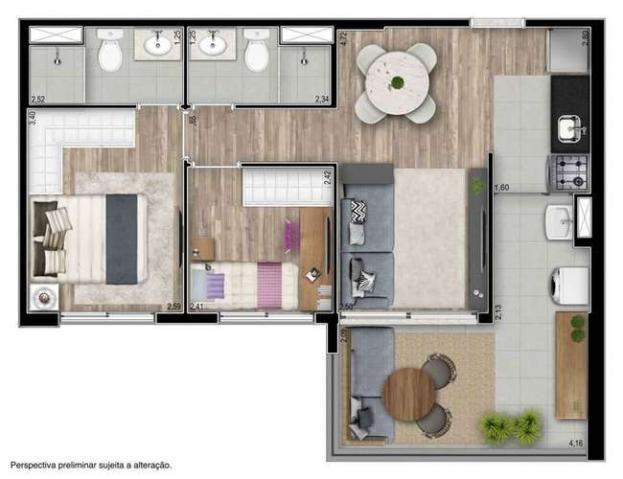 You Collection Studio e 2 quartos com ótima localização em Pinheiros - São Paulo, SP - Foto 17