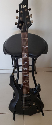 Guitarra esp ltd f10 black limited