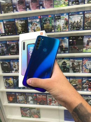 Xiaomi note 8 azul seminovo 64gb!! - Foto 2