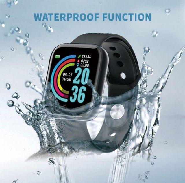 Smartwatch com notificações de mensagem e monitor de exercícios - Foto 6