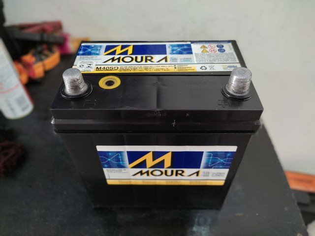 Bateria Moura 40ah  - Foto 3