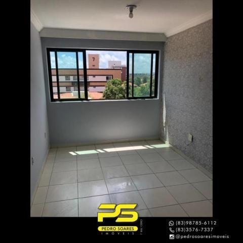 Apartamento com 2 dormitórios para alugar, 60 m² por R$ 1.700/mês - Altiplano Cabo Branco  - Foto 2