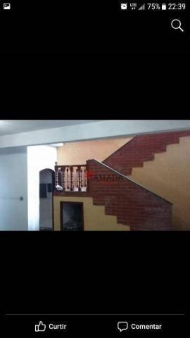 Casa assobradada, terreno 10x30m, 03 vagas, 04 dormitórios, suíte, à venda, 195 m² por R$  - Foto 5