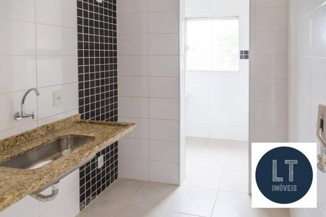 Apartamento com 2 dormitórios à venda, 64 m² por R$ 195.000,00 - Parque São Luís - Taubaté - Foto 7