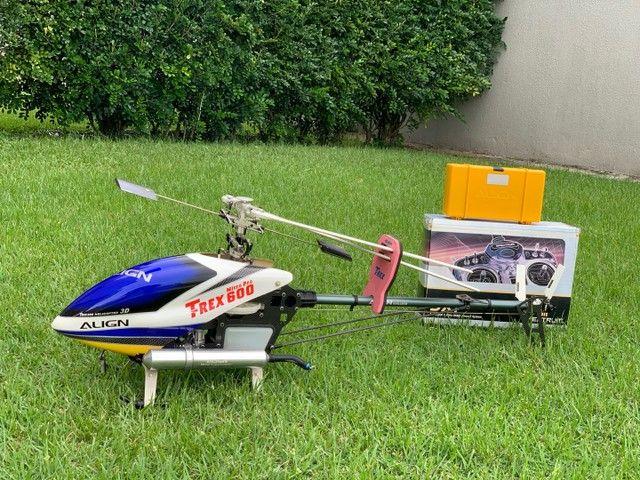 Helicóptero T-rex 600 - Foto 2