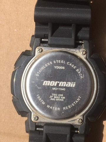 Relógio Marca Mormai á Prova D`àgua - Foto 6