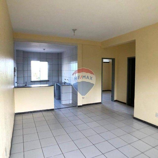 Apartamento com 2 dormitórios para alugar, 46 m² por R$ 750,00/mês - Edson Queiroz - Forta - Foto 4