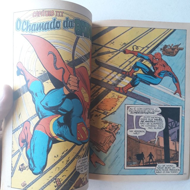 Edição de luxo ( superman / Homem Aranha  - Foto 4