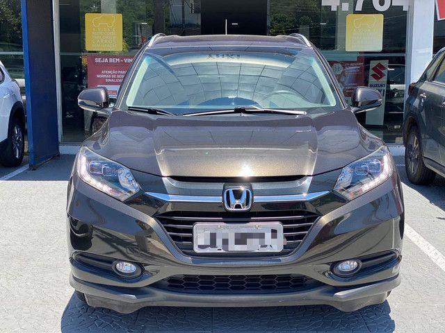 HR-V Touring 1.8AT 23.000km - Todo Revisado - Farol LED + Ar Digital + Multimídia