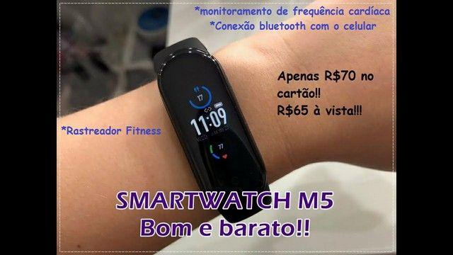 Relogio inteligente Smartwatch M5