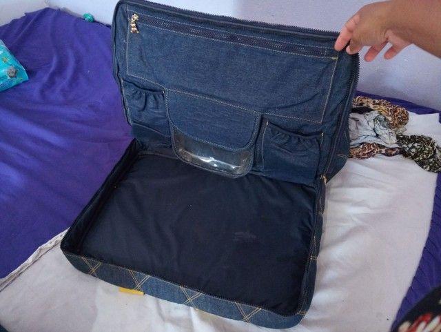 Bolsa para bebê jeans - Foto 5