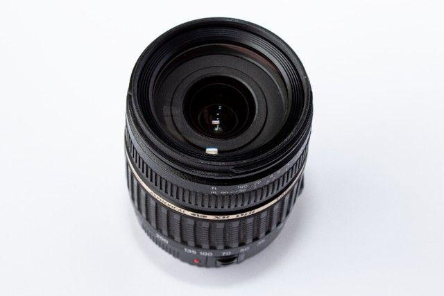 Lente Tamron 18-200mm Xr Di Ii Para Canon Super Novinha - Foto 4