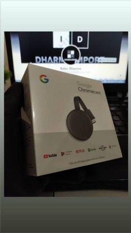 Chromecast geração 3 original e lacrado. - Foto 3