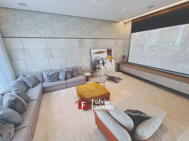 EXCLUSIVIDADE! Casa Luxuosa, Dentro de Condomínio de Alto Nível, 4 Suítes, Lazer Completo  - Foto 10