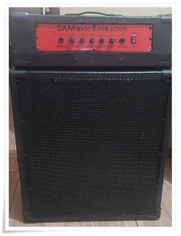 Sistema Amplificador Cabeçote para Contrabaixo Potente - Foto 2