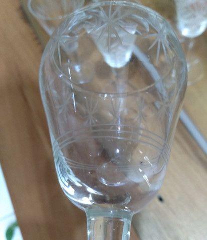 Taças antiguidade licor lindas - Foto 3