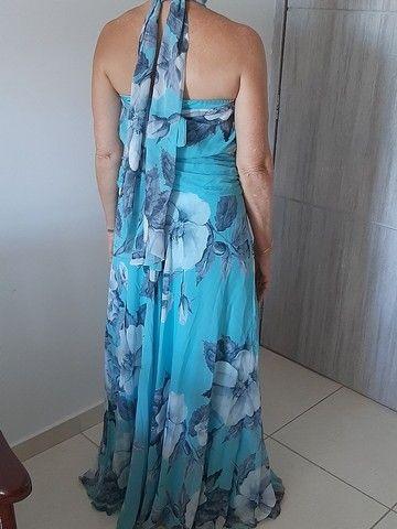 Vestido de festa usado pela mãe de noivo - Foto 2