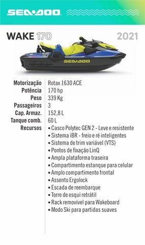 1 cota de 4 do jetski Wake 170 2021  (Novanautica) - Foto 4