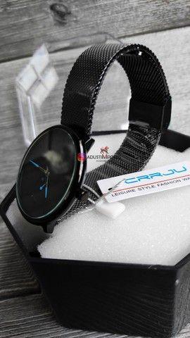 Dia dos namorados está chegando! Relógio importado novo e com garantia! - Foto 2