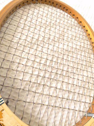 Raquete antiguidade Davis Raquete Tênis antiga - Foto 5