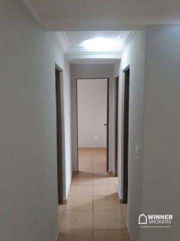 Apartamento com 3 dormitórios para alugar, 64 m² por R$ 900,00/mês - Zona 08 - Maringá/PR - Foto 8
