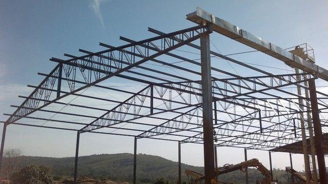 Estruturas metalicas telhados