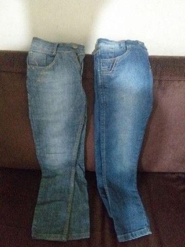 Calça jeans infantil + tênis  - Foto 3