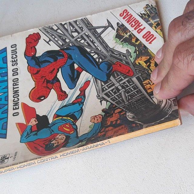 Edição de luxo ( superman / Homem Aranha  - Foto 5