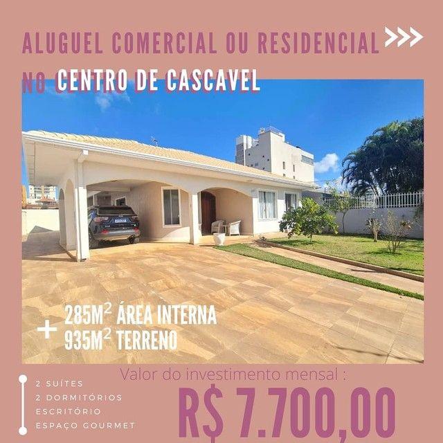 Casa belíssima disponível para aluguel residencial ou comercial