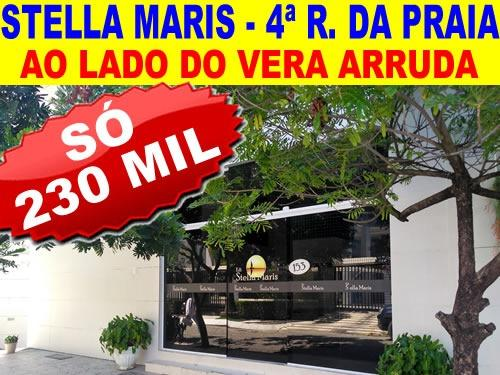 Stella Maris - 3 Qtos - Suíte - Varanda - 4ª rua da Praia de Jatiúca