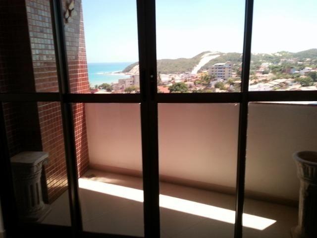 Apartamento Praia de Ponta Negra, frente mar, 17º andar, fino acabamento