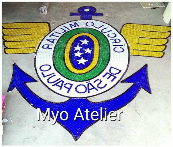 Corinthians Mosaico, Piso, parede, quadro, mesa, piscina - Foto 2