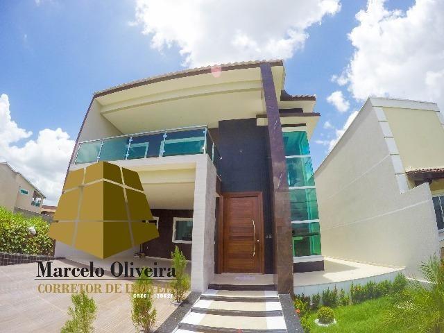 Casa nova tipo mansão com 4 suítes no Jardins da Serra Maracanau