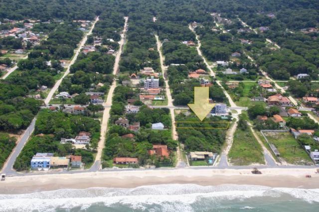 Terreno com 540m², 100 metros do mar, Balneário Mariluz