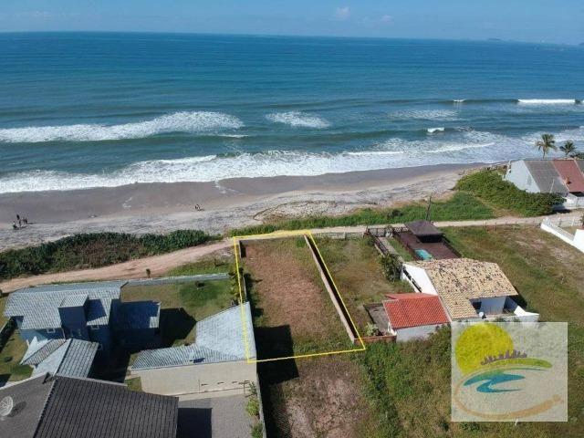 Terreno em Itapoá sc frente para o mar balneário cambiju!