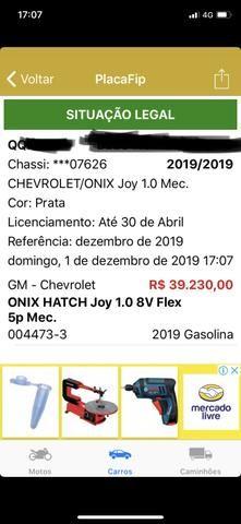 BATIDO ônix joy 1.0 2019 facil conserto - Foto 7