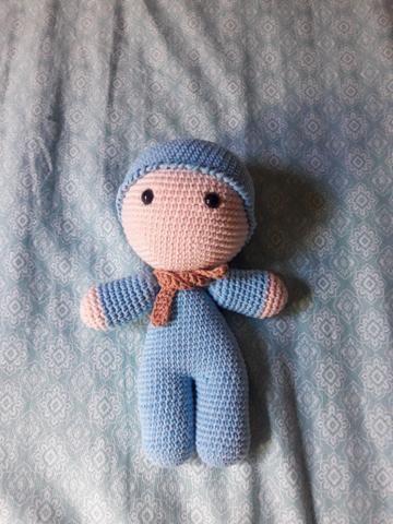 Bebê Yoyo de amigurumi - Foto 6
