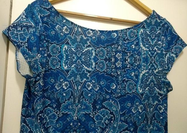 Vestido azul GG - Foto 3