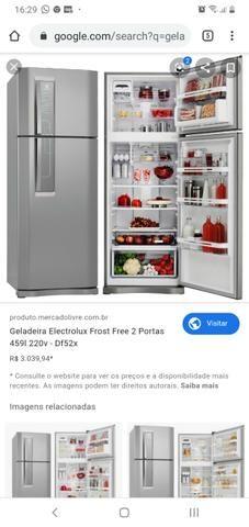 Geladeira Electrolux Frost Free 2 Portas 459l 220v - Df52x - Foto 5