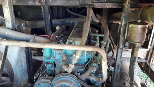 Motor Scania 112 (Diesel) em bom estado funcionando 100% ano 83