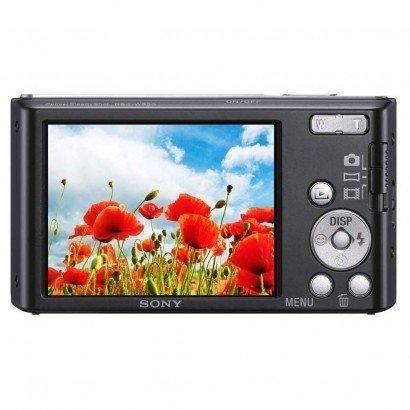 Câmera Digital Sony Cyber Shot Lcd De 2,7' 20.1mp Dsc-W830 Preto - Foto 4