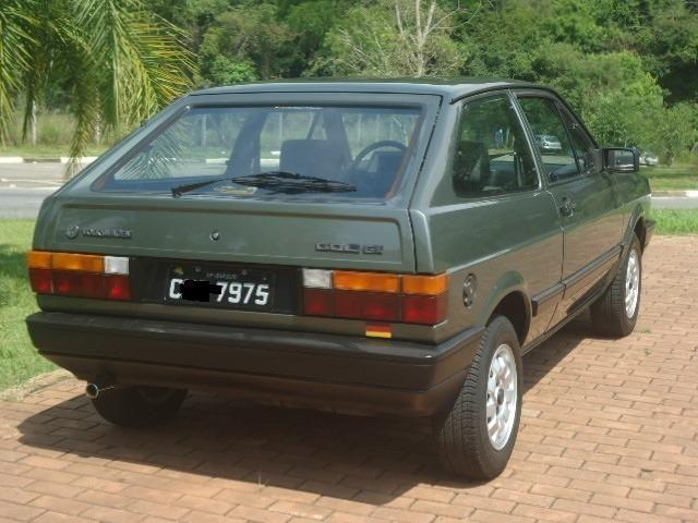 Vw - Volkswagen Gol Gl 1.6 1988 Raríssimo Grupo 3 Placas Preta - Foto 4