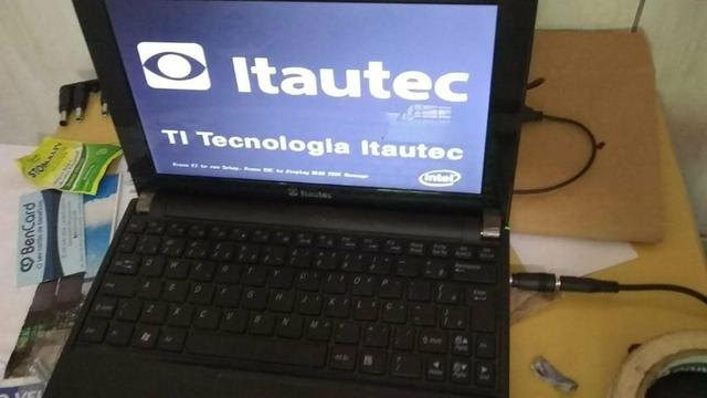 Netbook Itautec preço baixo