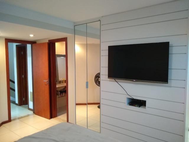 Casa em condomínio fechado 4/4 quatro quartos 222 m2 500 m2 de terreno Jaguaribe - Foto 7