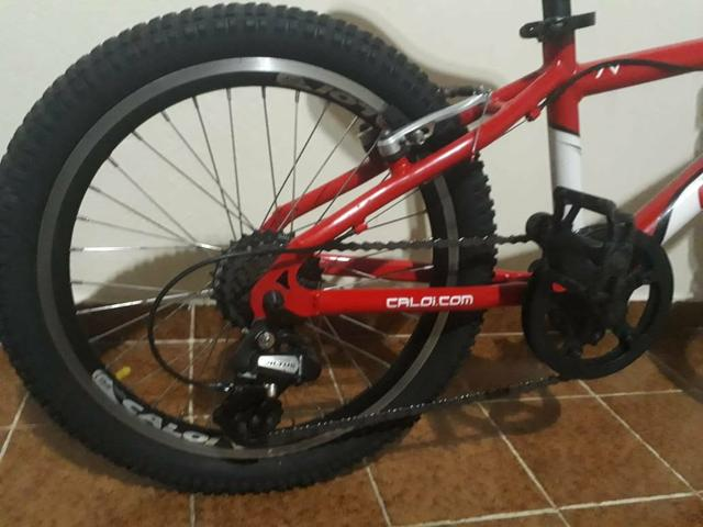 Bicicleta Caloi wild XS Aro 20 7 Marchas - Foto 4