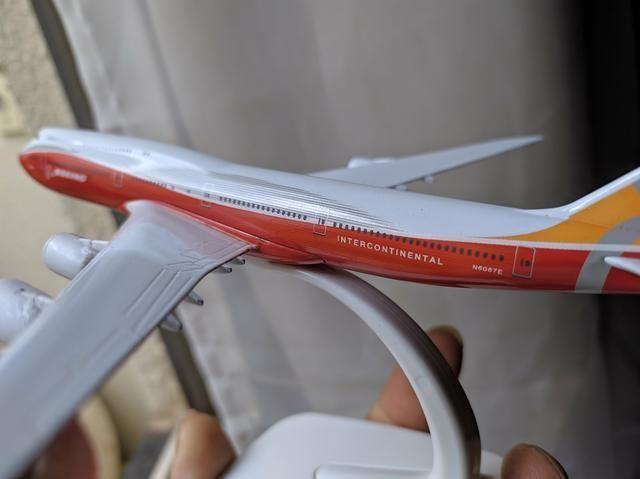 Miniatura boeing 747 - Foto 3