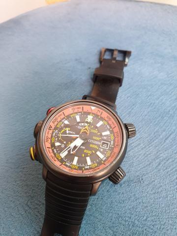 b6e57cc7664 Relógio Citizen Altichron Titanium BN4026-09F Eco-Drive